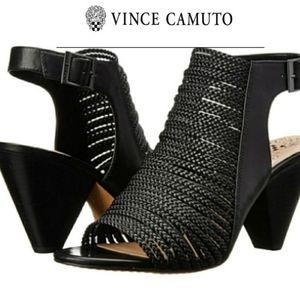 Vince Camuto Adeenta Strappy Sandal heel sz 9.5